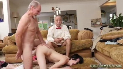 Two pensioners spent to remove the young whore